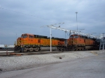 BNSF 5138 & 4083